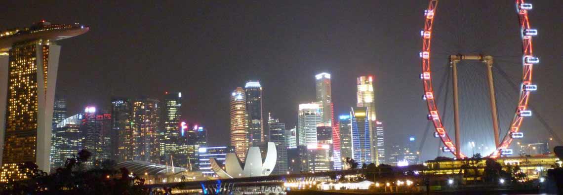 Skyline of Singapore 6
