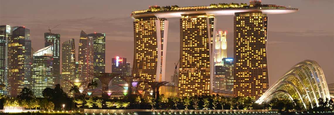 Skyline of Singapore 3