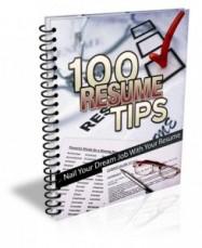 100 Resume Tips
