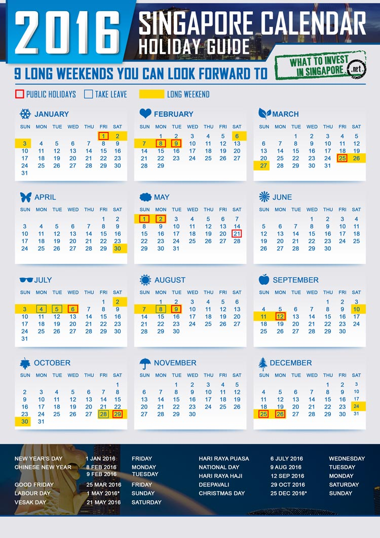 Long Weekends in 2016 You Can Look Forward to & Plan For! - What to ...